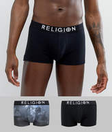 Religion 2 Pack Trunks With Deer Head