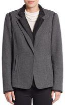 Lafayette 148 New York Two-Piece Vest & Jacket Set