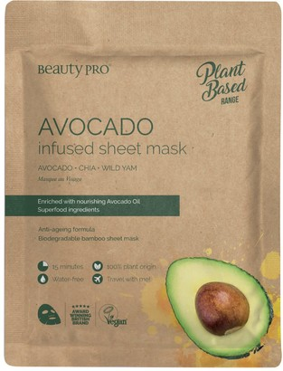 BeautyPRO Avocado Infused Sheet Face Mask