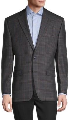Lauren Ralph Lauren Standard-Fit Plaid Wool-Blend Jacket