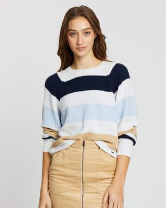 Hollister Stitch Raglan Sweater