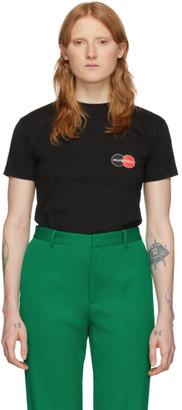 Balenciaga Black Uniform Fitted T-Shirt
