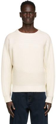 Eytys Off-White Wool Maze Sweater