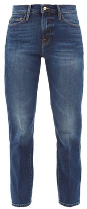 Frame Le Nouveau Straight-leg Jeans - Denim