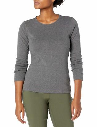Pendleton Women's Size Long-Sleeve Jewelneck Rib Tee