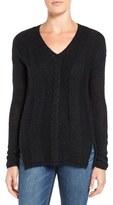 Velvet by Graham & Spencer Women's Mixed Stitch Sweater