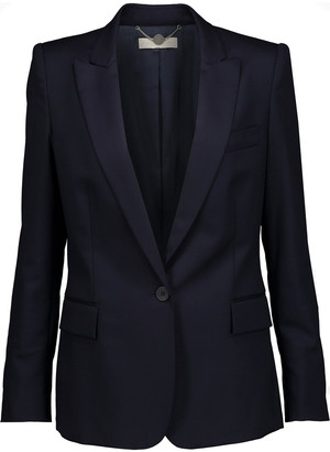 Stella McCartney Ingrid Wool-pique Blazer