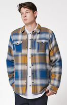 Ezekiel Deck Hand Plaid Flannel Shirt Jacket