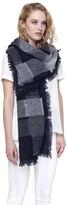 Soia & Kyo NICIA multi-coloured woven scarf in indigo
