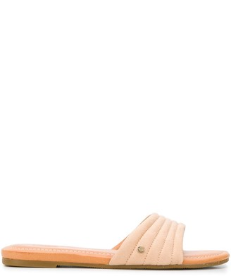 UGG Quilted Strap Sliders