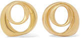 Pamela Love Kendrick Gold-plated Hoop Earrings - one size