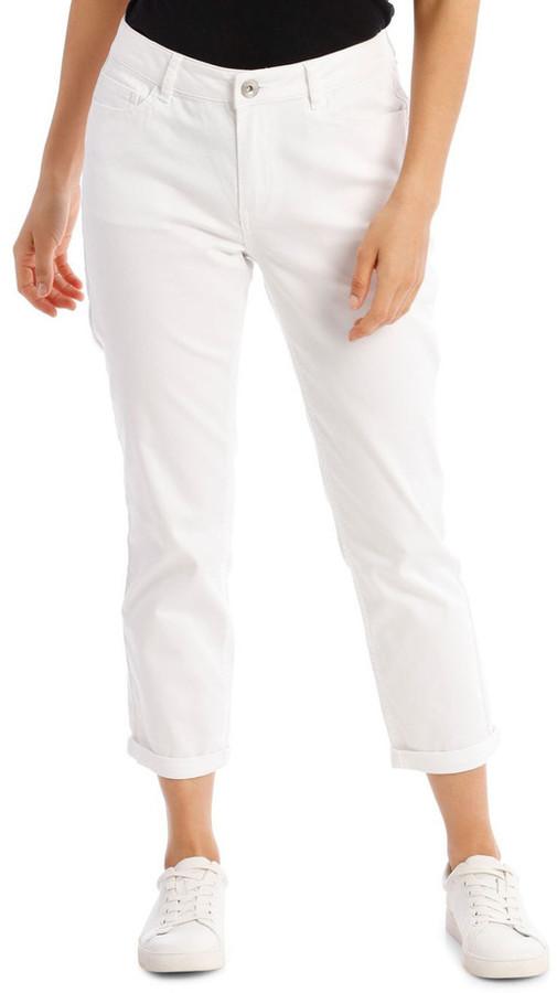 Regatta Essential Denim Crop Jean - Blanc White