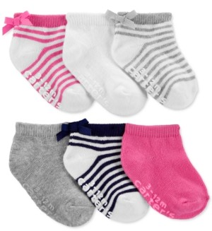 Carter's Toddler Girls 3-Pack Ankle Socks
