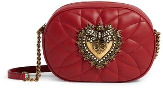 Dolce & Gabbana Leather Devotion Camera Bag