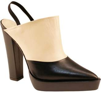 Juliana Herc Black & Nude Platform Shoes
