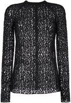 Giamba lace sheer blouse