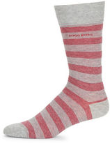 HUGO BOSS Multi Stripe Crew Socks