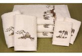 Oriental Furniture Best Quality Anniversary Gift 200, 7pc. Chiniosorie Trousseau Luxury Cotton Towel Set, Ivory