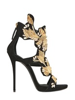 Giuseppe Zanotti 120mm Embellished Suede Sandals