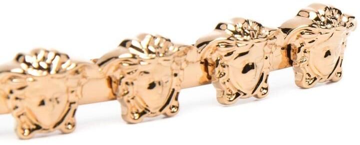 Thumbnail for your product : Versace Medusa-motif hair clip