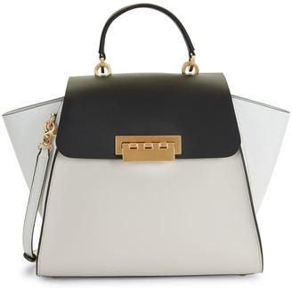 ZAC Zac Posen Eartha Colorblock Leather Top Handle Bag