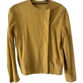 Calvin Klein Yellow Suede Jackets