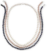 JCPenney Fine Jewelry Freshwater Pearl 3 Piece Necklace Set