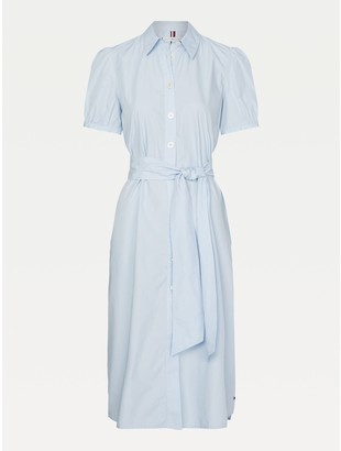 Tommy Hilfiger Curve Short-Sleeve Shirtdress