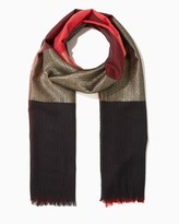 Charming charlie Shimmery Colorblock Scarf