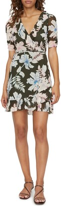 Sanctuary Foxy Lady Floral Wrap Dress