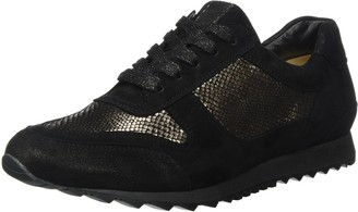 Hassia Womens Barcelona Weite H Low-Top Black Size: 3.5 UK