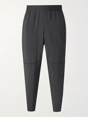 Nike Training - Tapered Mesh-Panelled Dri-FIT Yoga Sweatpants - Men - Black