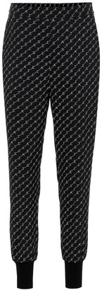 Stella McCartney Julia silk-blend trackpants