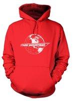 Tv And Film Hoodies By Something Geeky Stark Industries Globe Hoodie - Film Movie Geeky Tshirt - XX Large