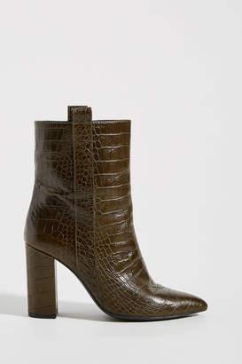 Bruno Premi Crocodile Ankle Boots