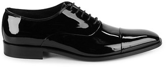 Saks Fifth Avenue Made In Italy Patent Leather Oxfords