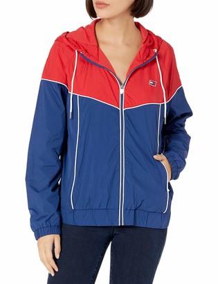 Tommy Hilfiger Women's Missy Long Sleeve Zip Up Windbreaker