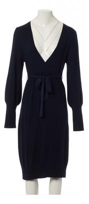 La Perla Navy Wool Dresses