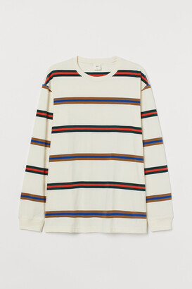 H&M Long-sleeved Jersey Shirt