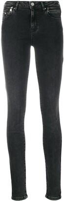 Karl Lagerfeld Paris Biker denim jeans
