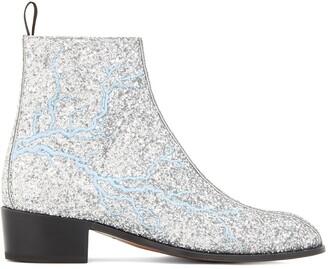 Giuseppe Zanotti Glitter Finish Boots