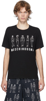 Moschino Black Suited Men T-Shirt