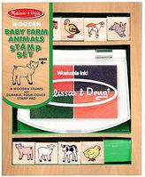 Melissa & Doug NEW Baby Farm Animals Stamp Set