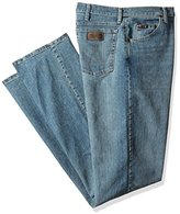 Wrangler Men's Tall Size Advanced Comfort 01 Competition Relaxed-Fit Jean
