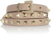 Valentino Studded leather belt