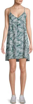Lucca Couture Leaf-Print Cami Dress