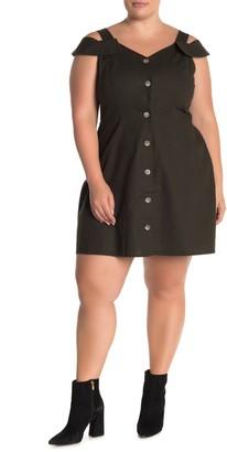 City Chic Safari Dress (Plus Size)