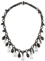 Bottega Veneta Crystal Collar Necklace