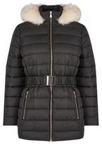 Dorothy Perkins Womens Petite Black Short Puffer Jacket, Black