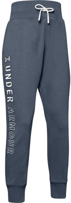 Under Armour Girls' UA Unstoppable Double Knit Slouch Pants
